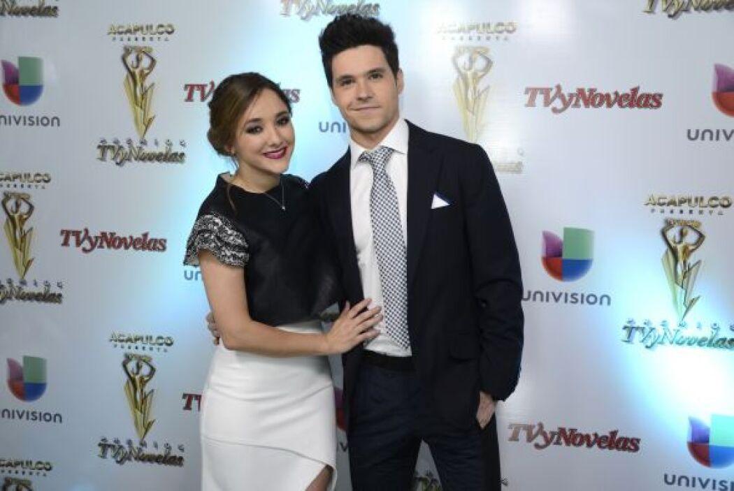 """También participó en """"Amores Verdaderos"""" y tuvo de galán a Eleazar Gómez."""