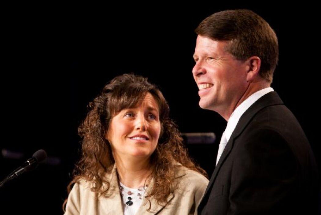 Jim Bob y Michelle Duggar, una pareja que tiene nada más ni nada menos q...
