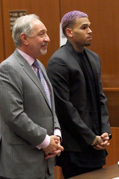 El rapero, junto con su abogado, asistieron puntuales a la cita, y las g...