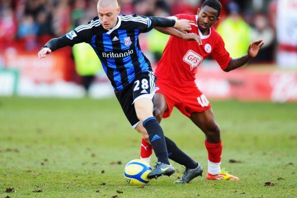 También jugó el Stoke City, que visitó al modesto C...
