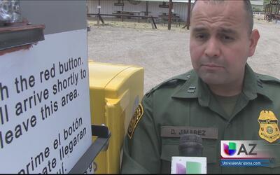 Patrulla Fronteriza educa a la comunidad sobre los peligros de cruzar ir...