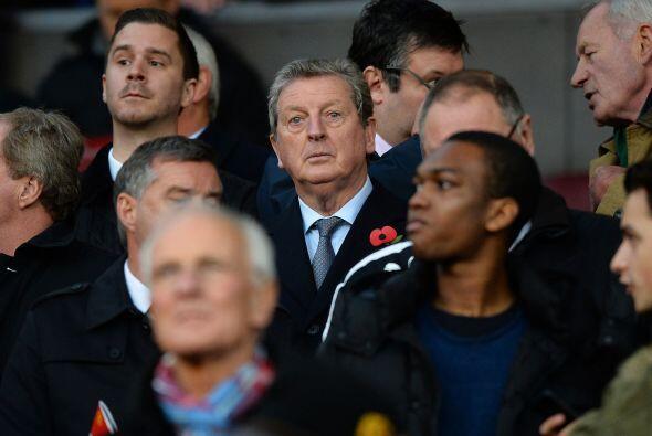 Roy Hodgson, entrenador de la selección inglesa, no dejó pasar la oportu...