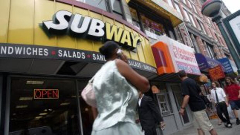 Subway, hasta el 1 de enero, tenía 33,749 locales en el mundo, más de mi...