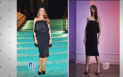 ¿A quién le queda mejor el vestido, a Sofía Vergara o a la modelo?