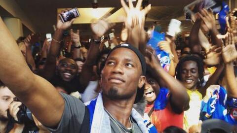 Con la eliminación del Impact el goleador, Didier Drogba puso fin a su c...