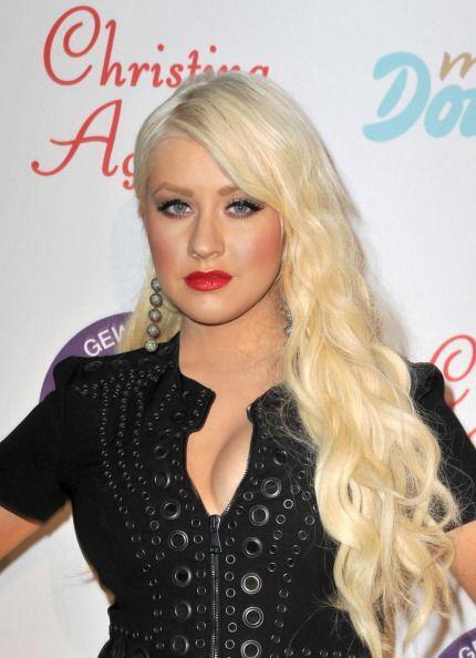 ¡Christina Aguilera es una total adicta a los labios rojos! Pocas...