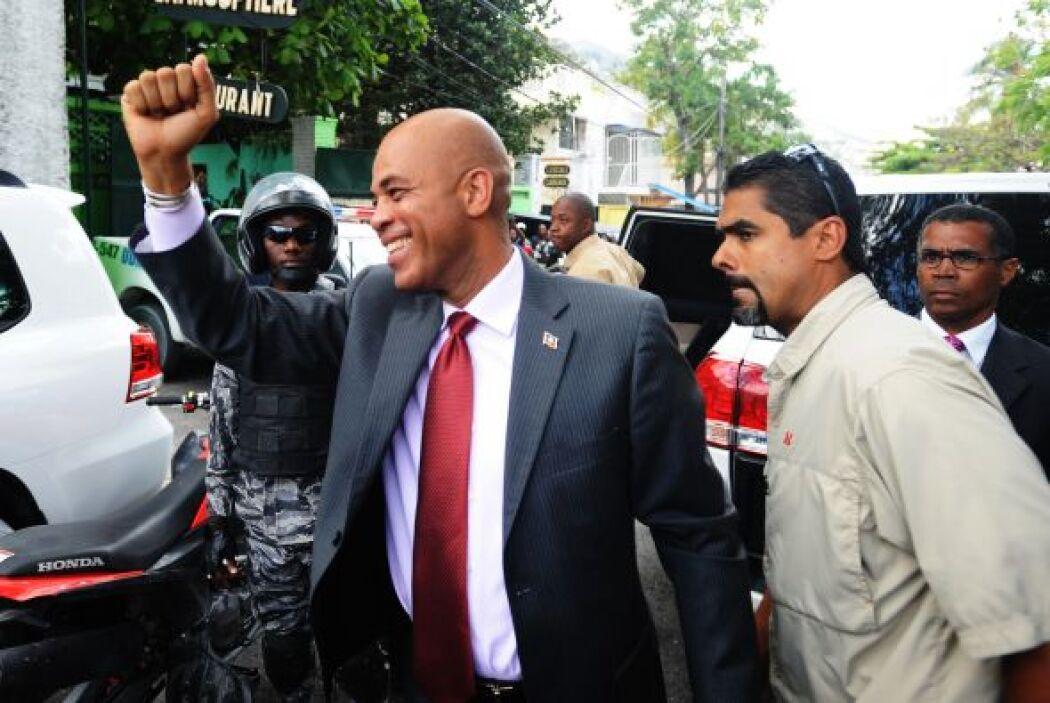 También dijo que será 'el presidente de todos los haitianos'.