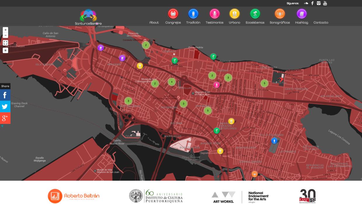 Cartografía Sonora de Santurce