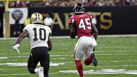 La jugada grande que resolvió el juego en favor de los Falcons