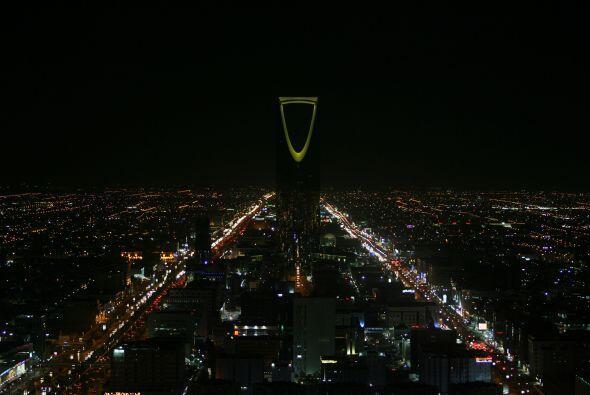 Riad, Arabia Saudita.  Por cerca de 230 dólares por noche, puedes quedar...