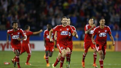FC Dallas celebra victoria sobre Seattle Sounders