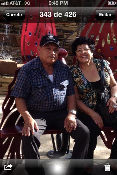 Victoria y Florentino cumplieron 47 años de casados el 9 de febre...