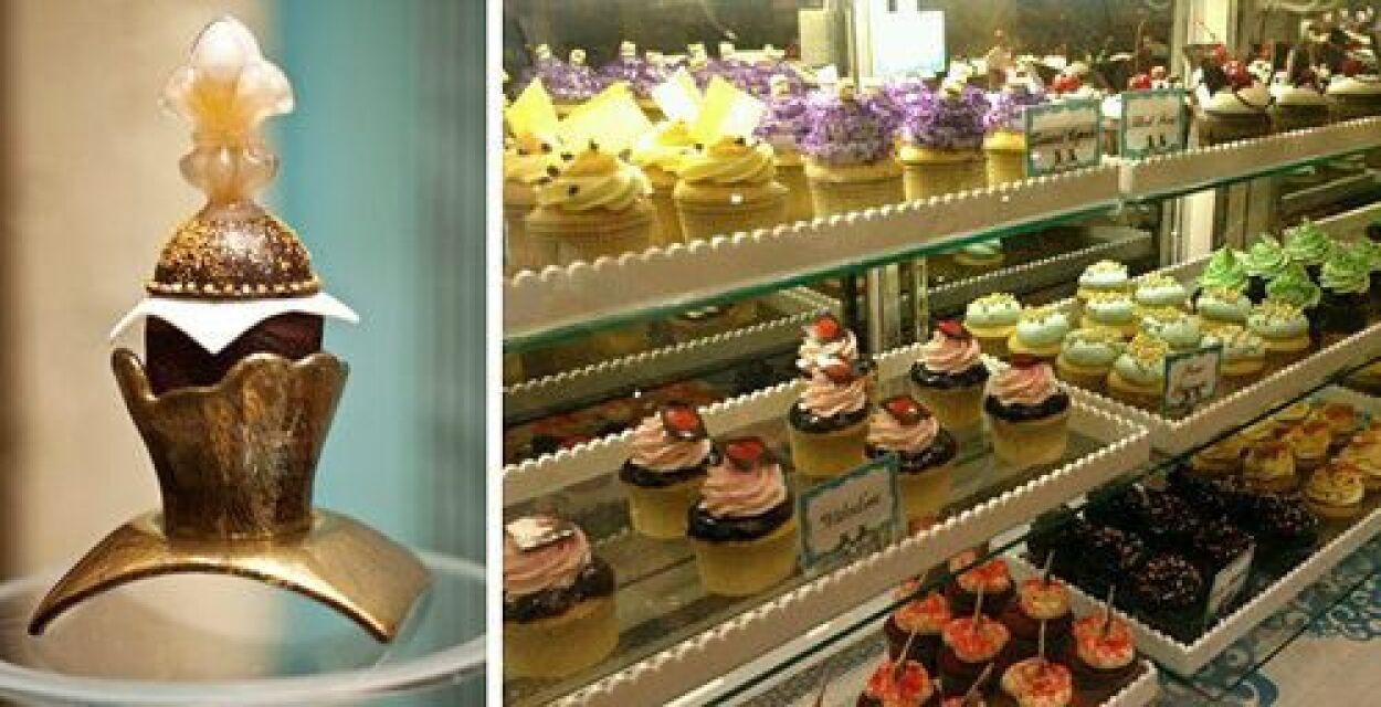 Este cupcake de la tienda Sweet Surrender en Las Vegas solo te cuesta $7...