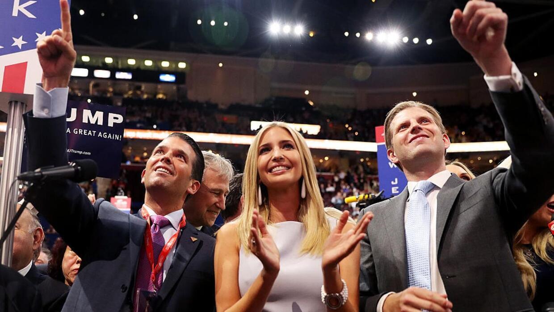 El momento en el que Donald Trump es nominado formalmente como candidato...