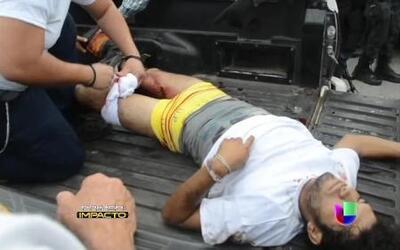 Lluvia de balas en Michoacán por enfrentamiento de autodefensas y autori...
