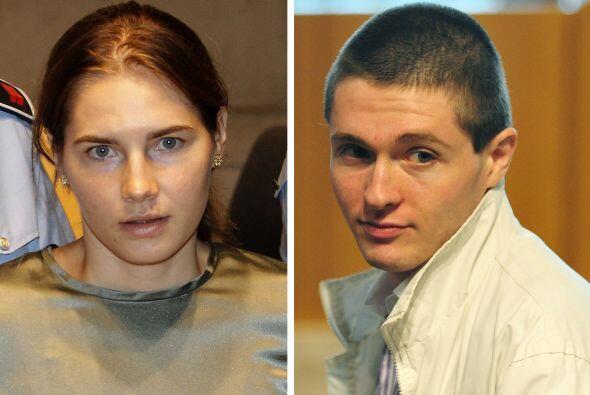 En 2007 Knox y su entonces novio, Raffaele Sollecito fueron culpados por...