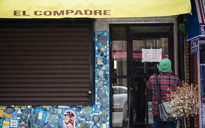 Un restaurante cerrado en Filadelfia, en honor al 'Día sin inmigrant...