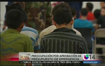 Preocupación por aprobación de presupuesto de emergencia