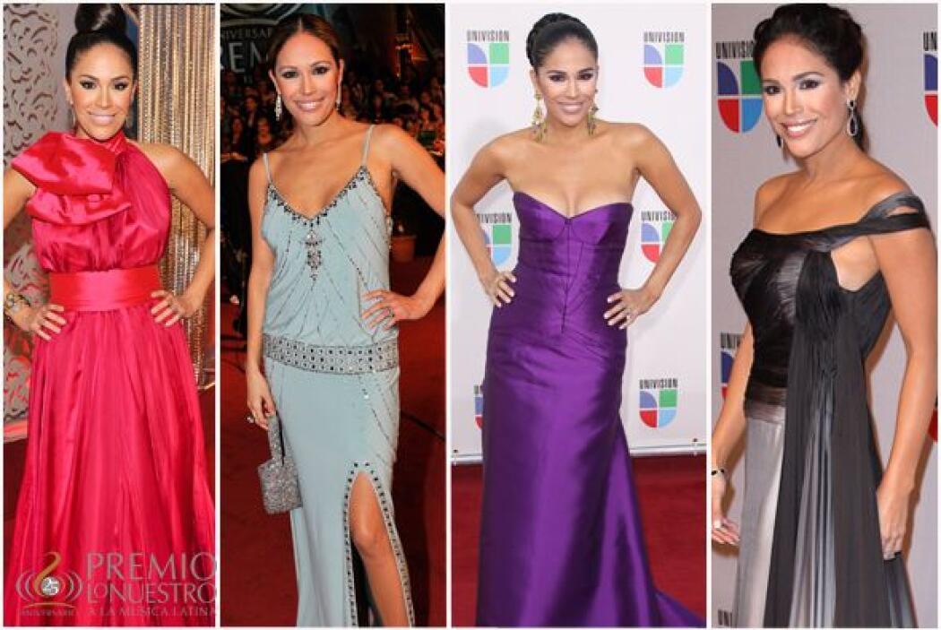 Año con año, Karla Martínez nos sorprende en la alfombra con su belleza...
