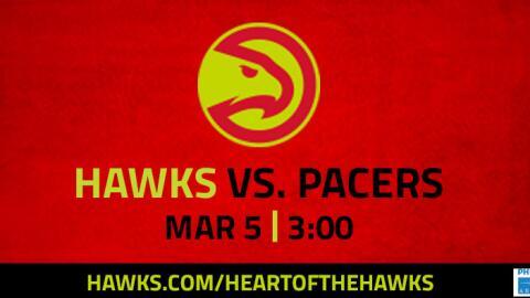 Hawks VS. Pacers