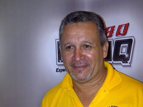 Miguel Angel Ortiz es el presidente de la Villa Pesquera Punta Pozuelo I...