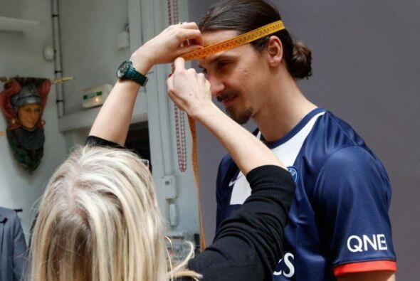 El jugador sueco ya tiene su propia figura de cera, luego de que el Muse...