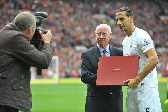 Con el QPR el defensa Rio Ferdinand volvía a la que fue su casa por vari...