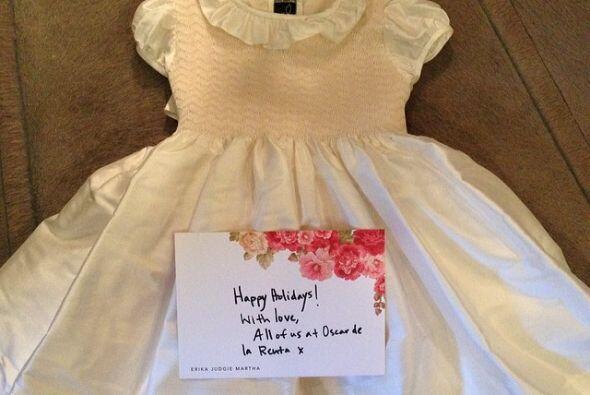 Cuando Nori cumplió un año, recibió de regalo por parte del diseñador Os...