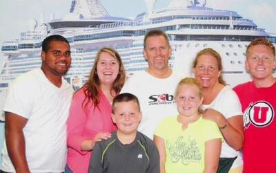 Una familia que estaba de vacaciones fue atropellada por un conductor en...