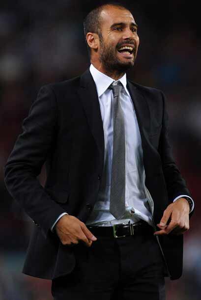 Se espera que el jefe en el vestuario 'culé' Josep Guardiola resp...