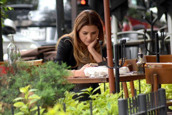 """La actriz que está próxima a finalizar grabaciones de la telenovela """"Lo..."""