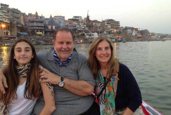 """El """"Gordo"""" llegó con su familia a la ciudad de Beranés, que se encuentra..."""