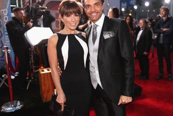Alessandra Rosaldo y Eugenio Derbez están felices de recibir a Aitana en...