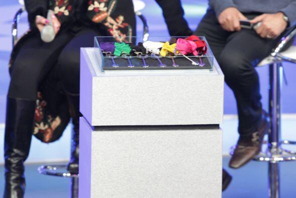 Estas son las llaves que los jueces entregarán a sus participantes favor...