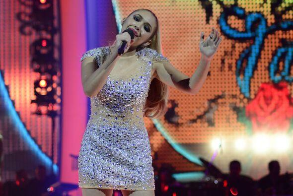 "Paloma cantó el tema ""Tatuajes""."