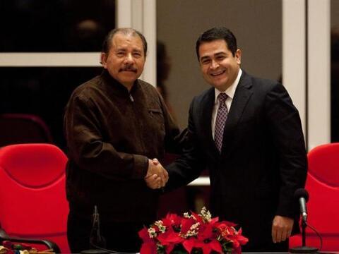 El presidente de Nicaragua, Daniel Ortega, recibió al presidente...