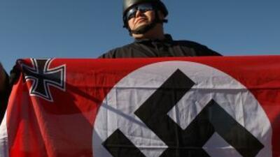 Un simpatizante de la idelogía nazi.