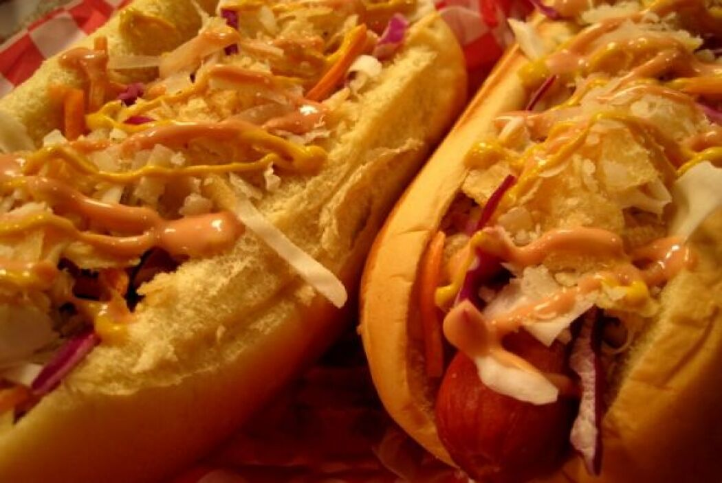 PERRO CALIENTE COLOMBIANOLos 'hot dogs' al estilo colombiano son un manj...