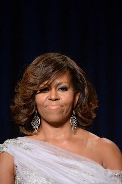 Pero Michelle demostró que la diversión no está peleada con la elegancia.