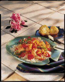 Camarones a la criolla: A la criolla es un estilo sureño de la cocina am...