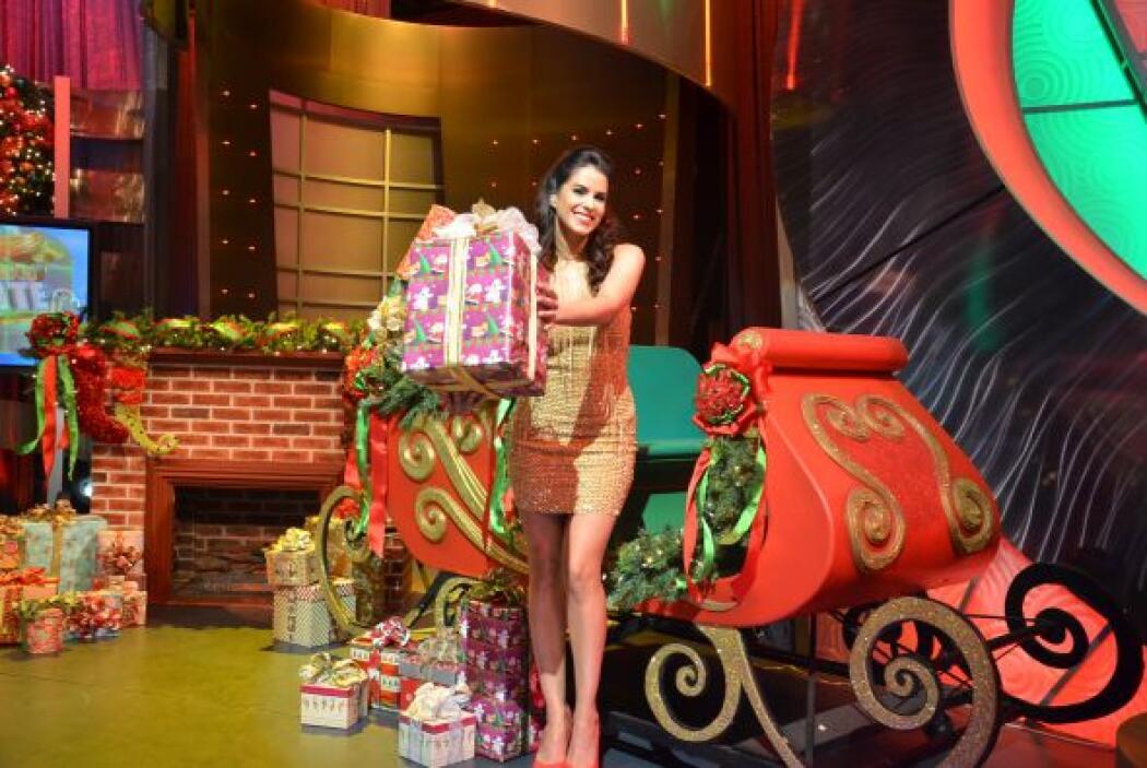 Claro, según ella el regalo más grande tenía su nombre, así que de una v...