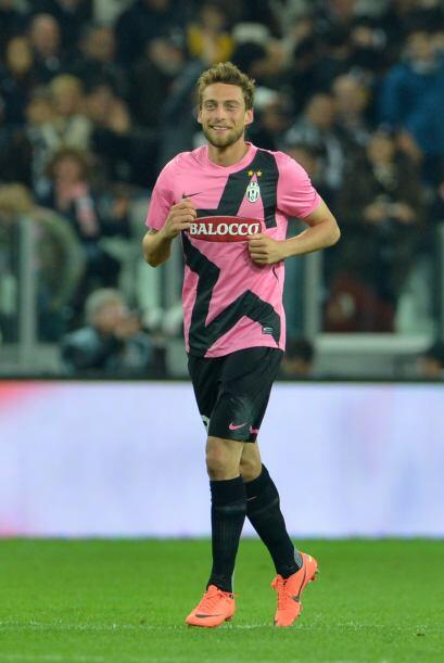Claudio Marchisio logró el 4-0 definitivo, con lo que la 'Juve' e...