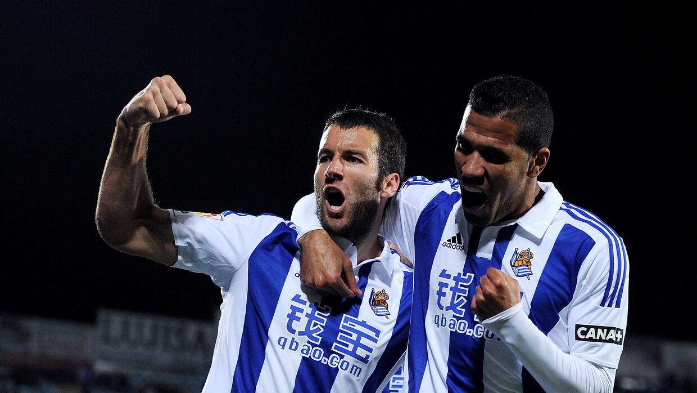 Imanol Agirretxe anotó el empate en San Sebastián