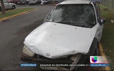 Pesar en el barrio Río Lajas de Dorado por muerte de niña atropellada