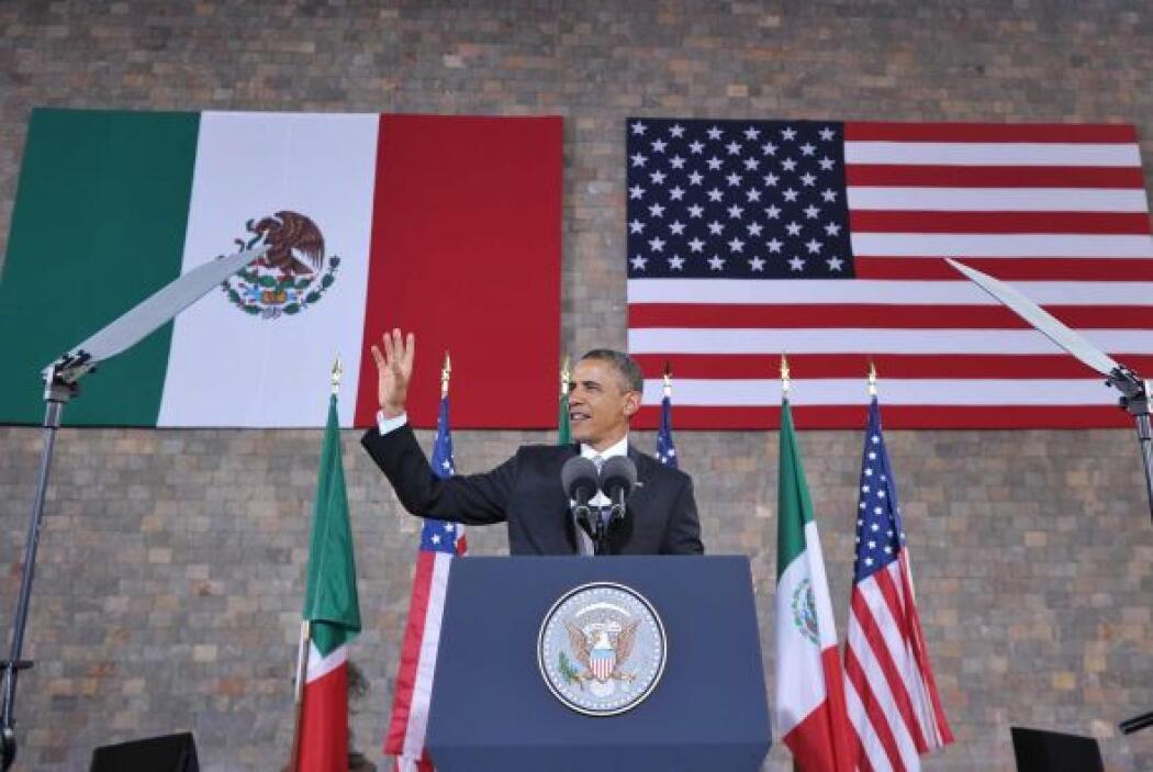 Por ejemplo, resaltó la belleza de México y la calidez de sus ciudadanos...