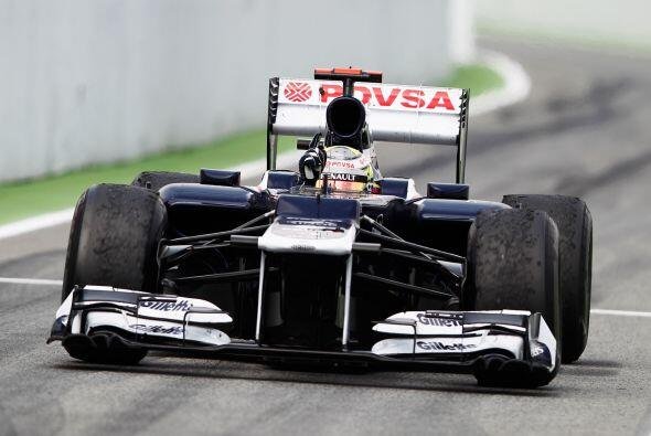 Con cierta comodidad, Pastor Maldonado llegó en primer lugar.