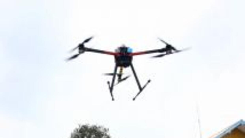 Estados Unidos envió este drone a ayudar en Pakistán