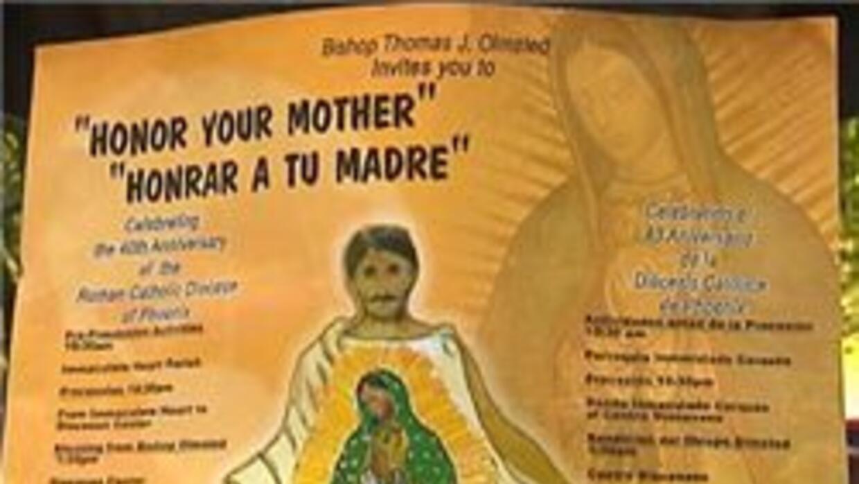 Imagen de la virgen de guadalupe