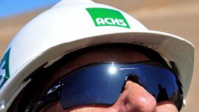 Gafas especiales para mineros chilenos cuando lleguen a la superficie.