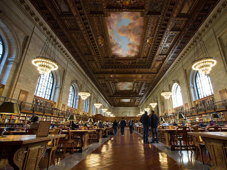 La reapertura del Rose Main Reading Room y el Bill Blass Public Catalog...